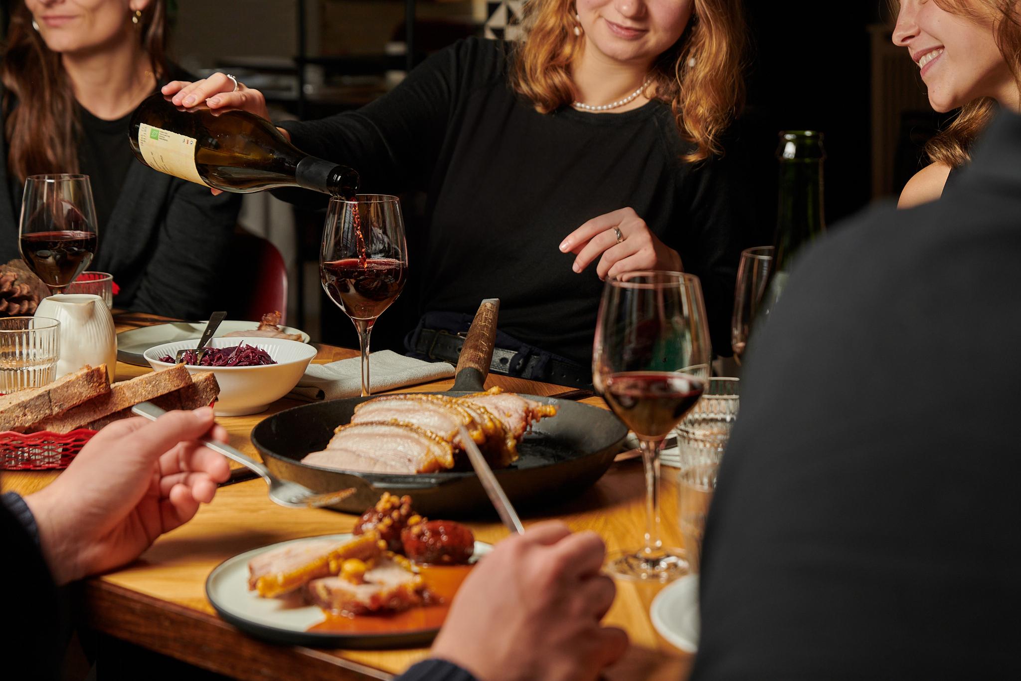 Puglisi Events, økologisk catering til firma julefrokost.