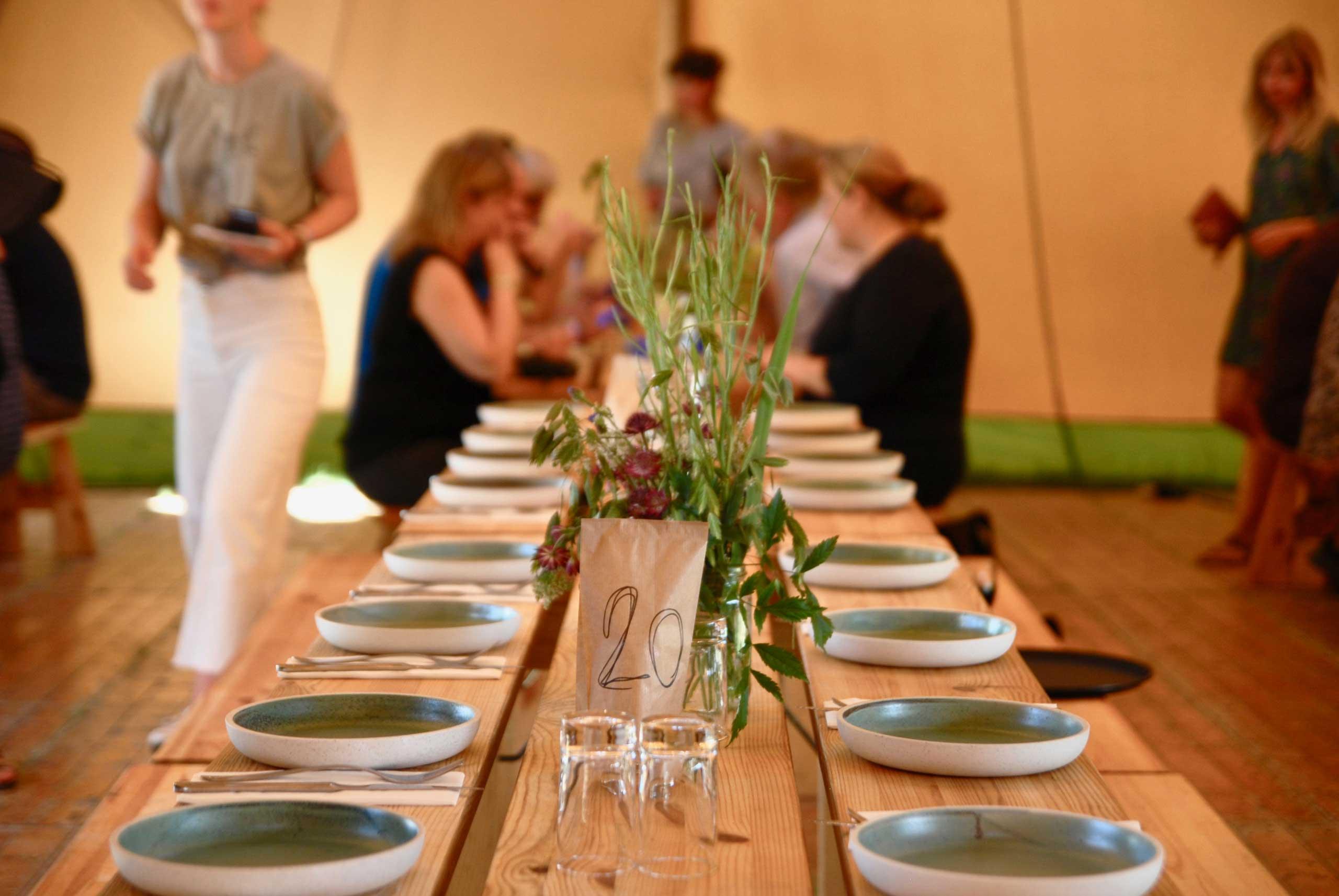 Puglisi events, økologisk catering til firmareception.