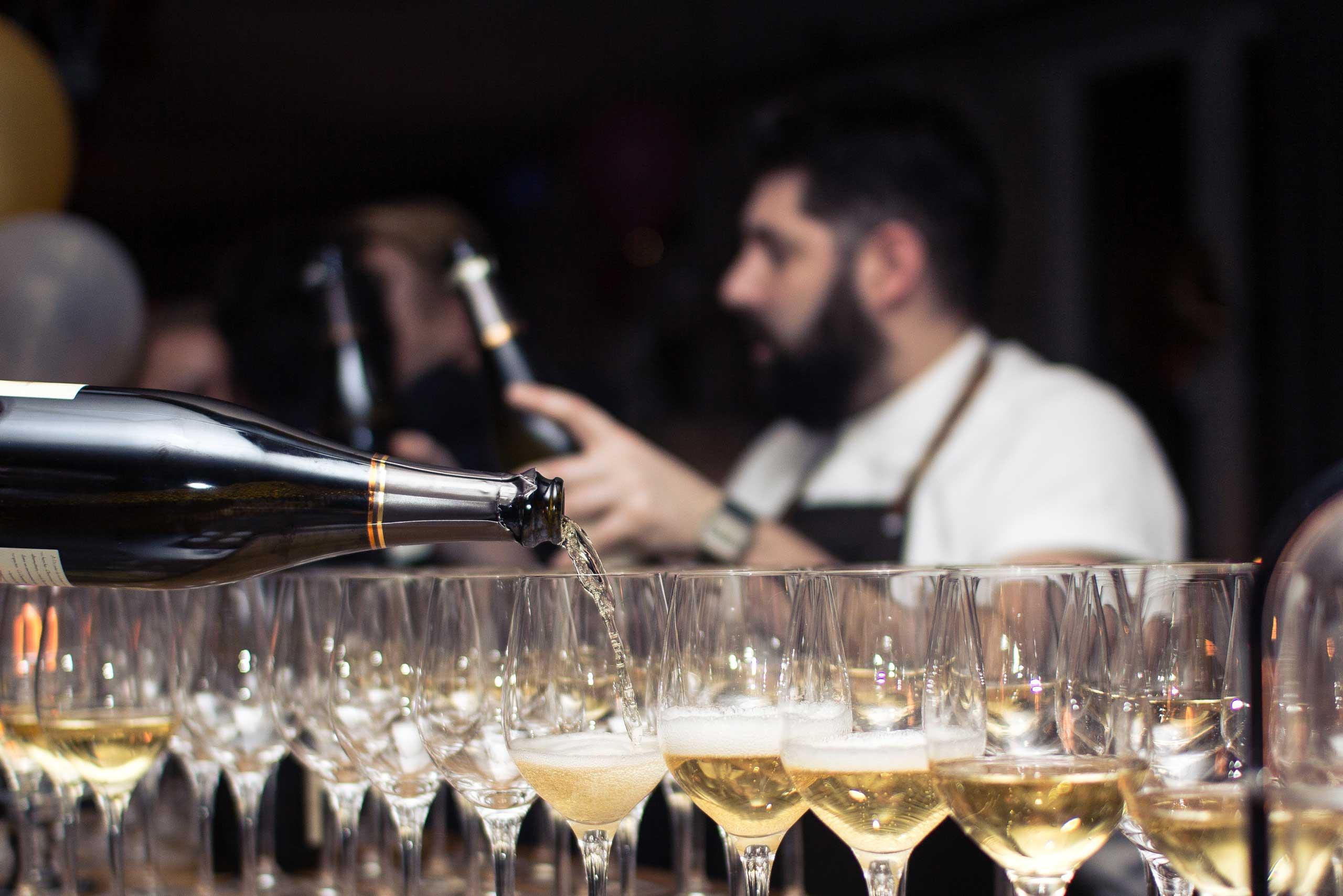 Økologisk mad og vin til fødselsdag, firmafest og meget mere hos os eller som catering fra Puglisi Events. Billede af: Rachel Jones.