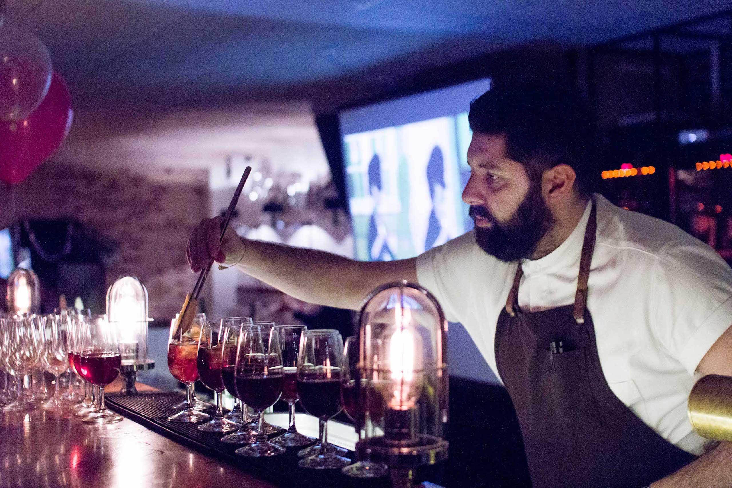 Økologisk drinks og cocktails til fest hos os eller hos jer fra Puglisi Events. Billede af: Rachel Jones.