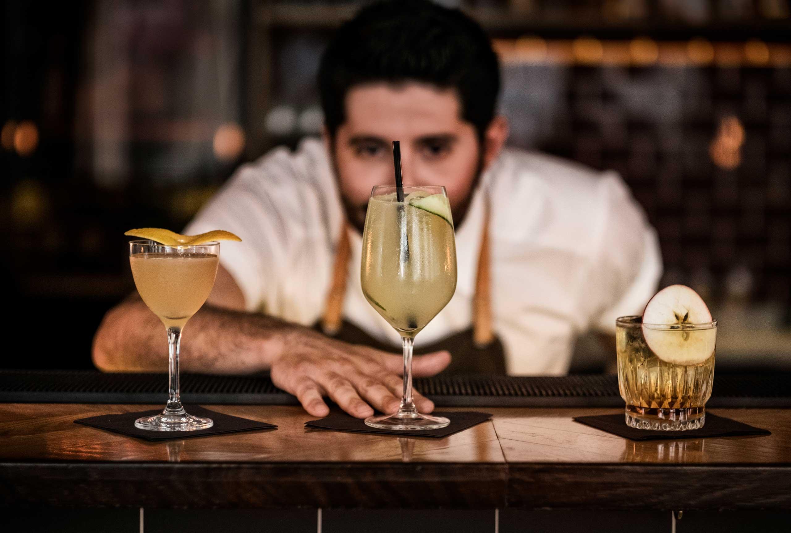Økologiske drinks og cocktails hos os eller som catering til studenterfest, firmafest og meget mere fra Puglisi Events. Billede af: Rachel Jones