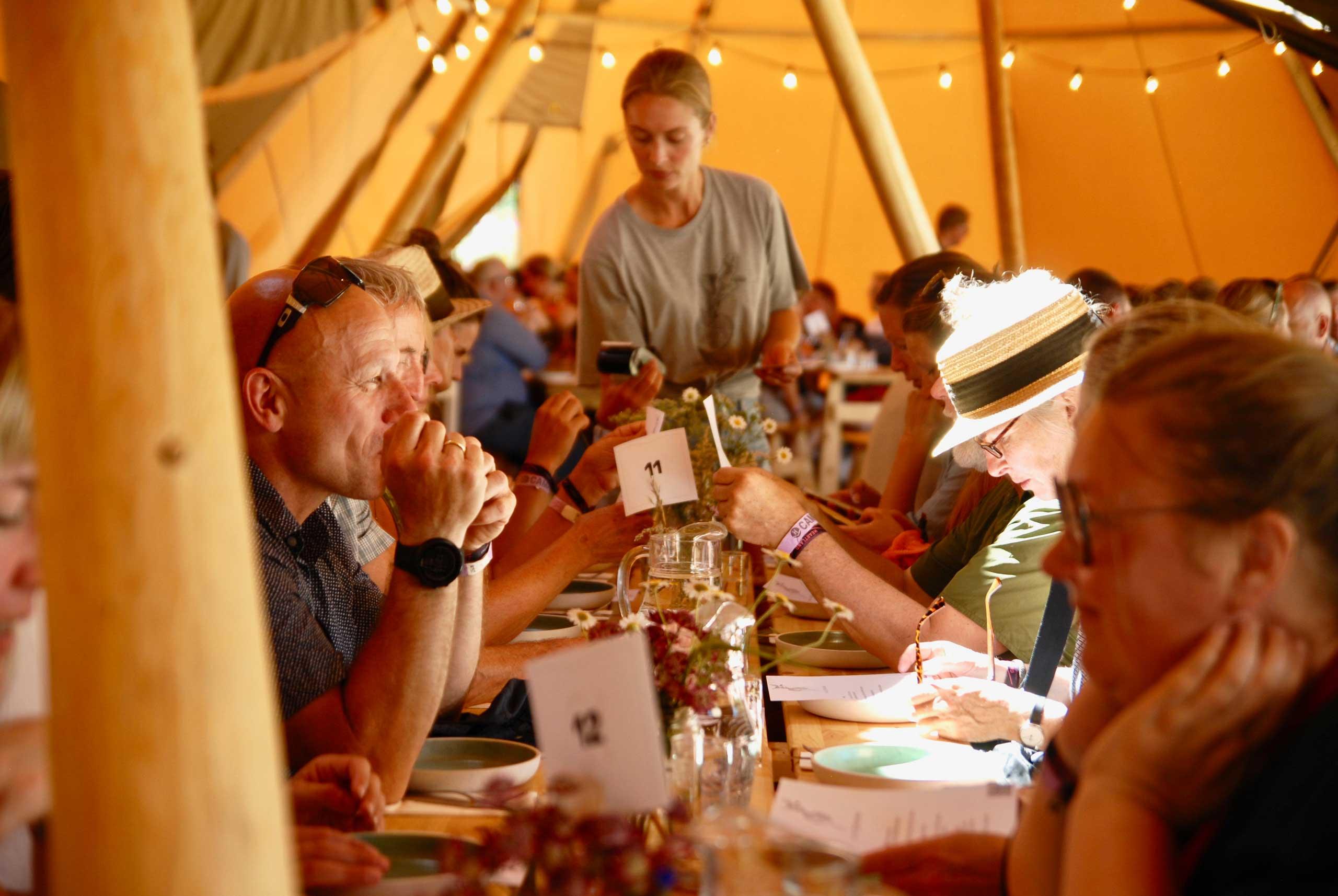 Økologisk mad og vin til alle slags selskaber og events fra Puglisi Events. Billede af: Karl Ejnar Jørgensen.