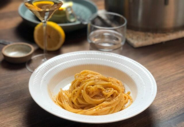 Spaghetti 'Nduja-nara